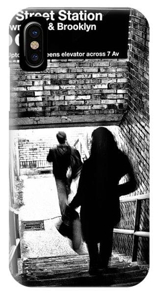 Quick iPhone Case - Subway Shadows by Karol Livote