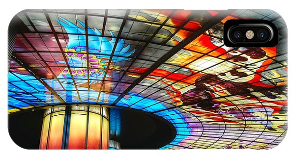 Subway Station Ceiling  IPhone Case
