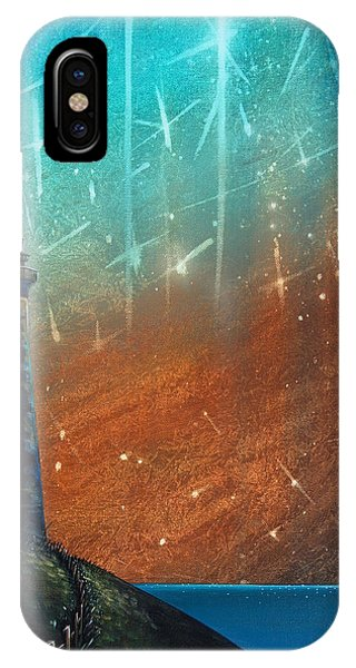 Lighthouse iPhone Case - Such A Night As This by Cindy Thornton