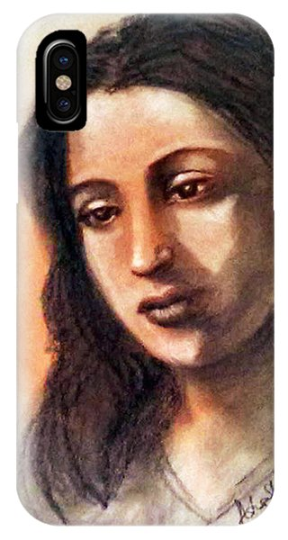 Suchitra Sen IPhone Case