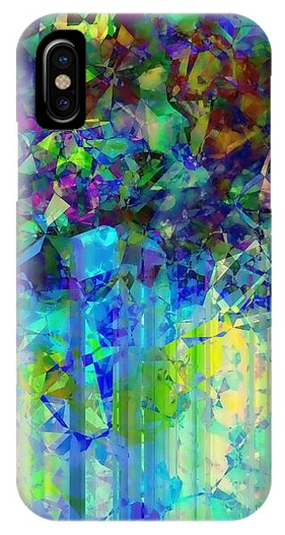 Purple Rain iPhone Case - Sudden Rain And My Blues by Wendy J St Christopher