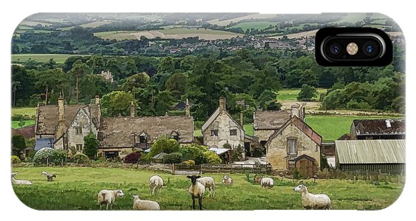 Sudeley Hill Farm IPhone Case