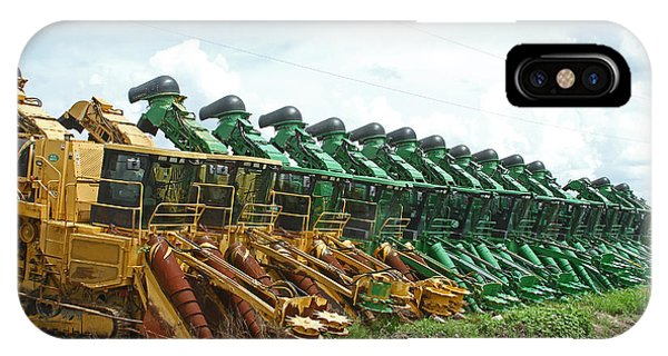 Sugar Cane Harvesters IPhone Case