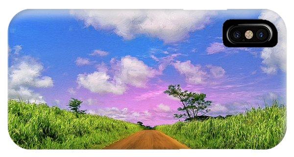 Sugar Cane Sunrise IPhone Case