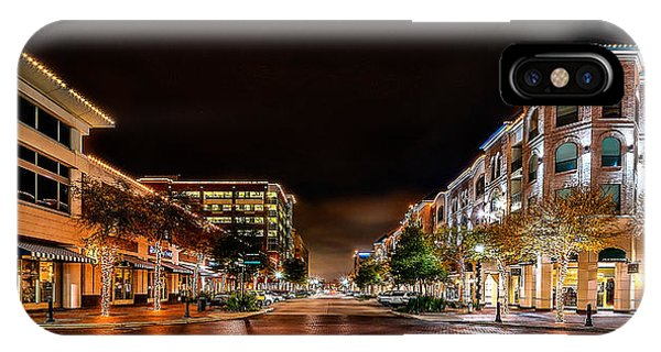 Sugar Land Town Square IPhone Case