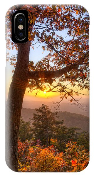 Chilhowee iPhone Case - Sugar Loaf Mountain by Debra and Dave Vanderlaan