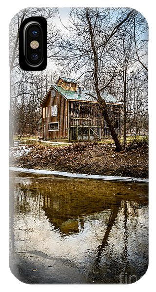 Sugar Shack In Deep River County Park IPhone Case