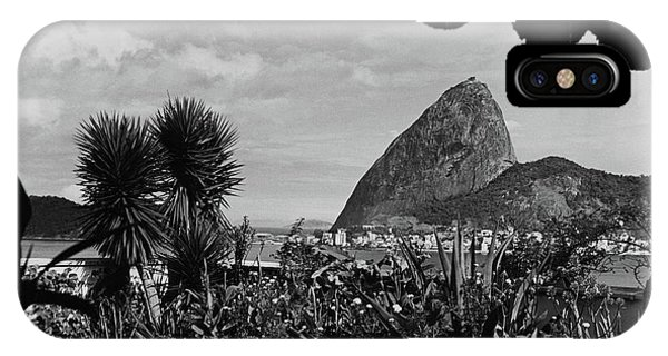Sugarloaf Mountain Seen From The Patio At Carlos IPhone Case
