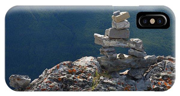 Sulfur Mt Banff IPhone Case