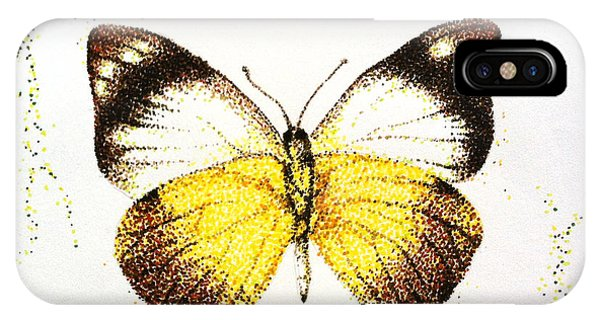 Sulphurs - Butterfly IPhone Case