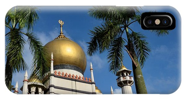 Sultan Masjid Mosque Singapore IPhone Case