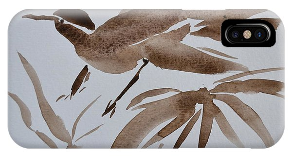Sumi Bird IPhone Case