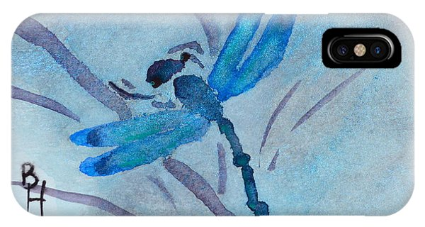 Sumi Dragonfly IPhone Case