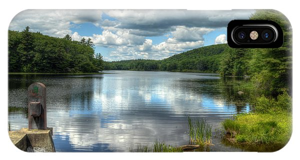 Summer Afternoon At The Spillway IPhone Case