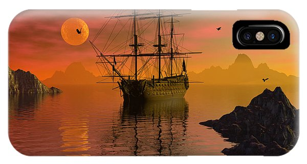 Summer Anchorage IPhone Case