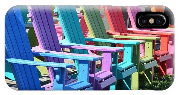 Summer Beach Chairs IPhone Case