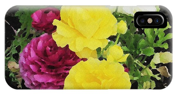 Summer Bouquet IPhone Case