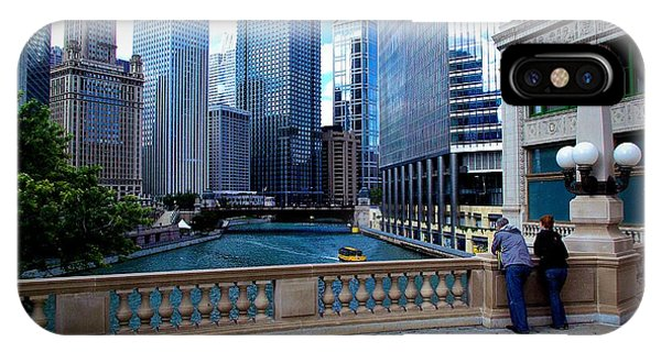 Summer Breeze On The Chicago River - Color IPhone Case