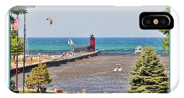 Haven iPhone Case - Summer Day At South Haven Mi by Jack Schultz