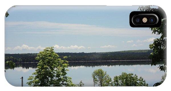 Summer Day In Cape Breton IPhone Case