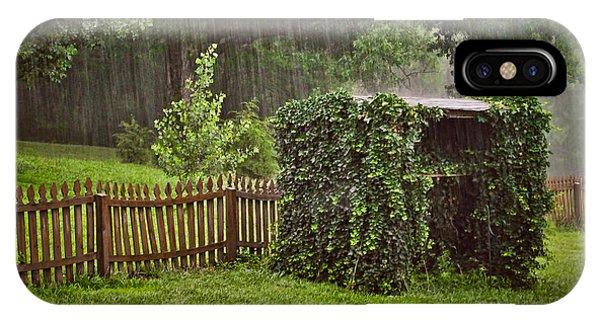 Summer Downpour IPhone Case