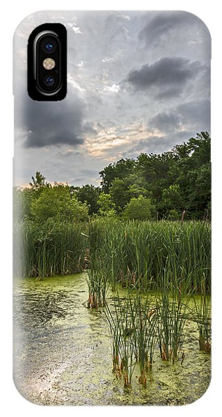 Summer Evening Clouds IPhone Case