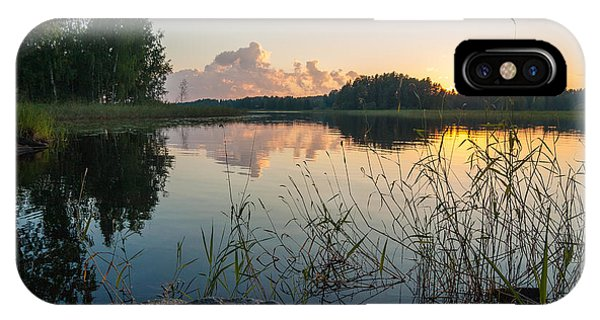 Summer Evening To Remember IPhone Case