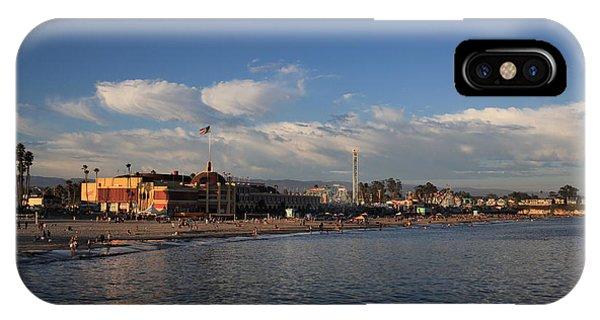 Summer Evenings In Santa Cruz IPhone Case