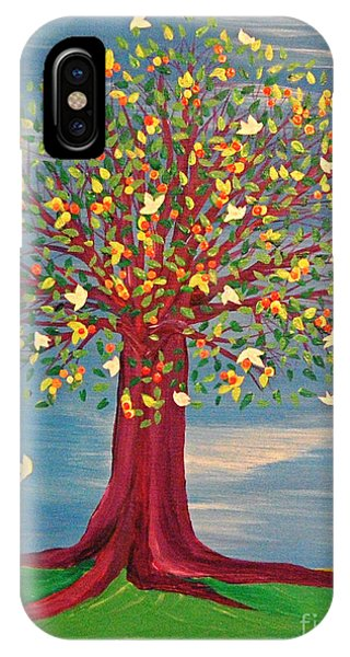 Summer Fantasy Tree IPhone Case