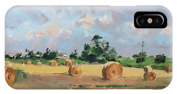 Georgetown iPhone Case - Summer Fields In Georgetown On by Ylli Haruni