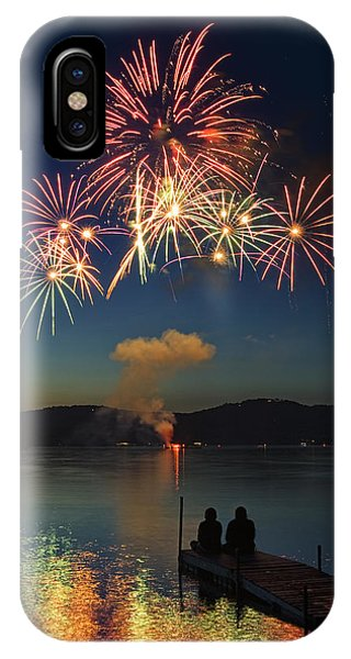Summer Fireworks IPhone Case
