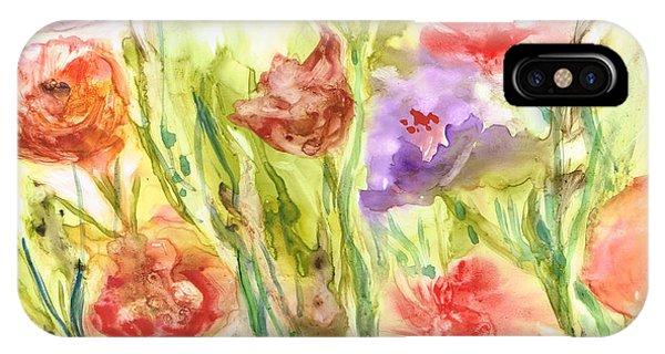 Summer Flowers Phone Case by Rosie Brown
