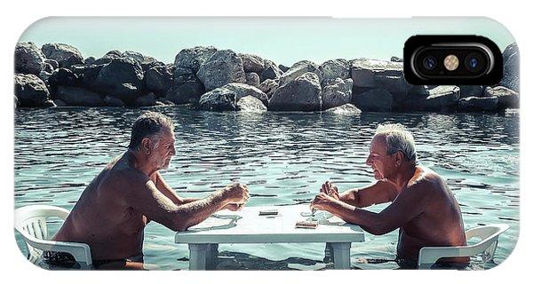 Beach Chair iPhone Case - Summer Games by Gianluca Zaio