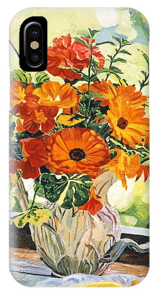 Summer House Still Life IPhone Case