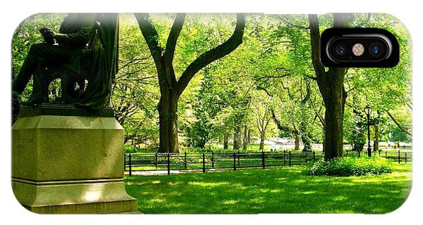 Summer In Central Park Manhattan IPhone Case