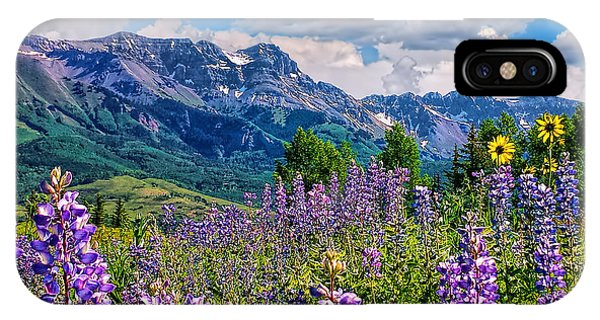 Summer In Telluride IPhone Case