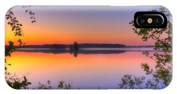 Salo iPhone Case - Summer Morning At 02.05 by Veikko Suikkanen