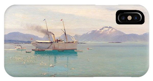 Summer Morning At Molde, 1892 IPhone Case