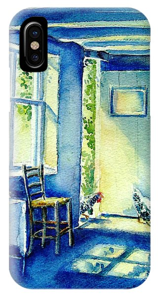 Summer Morning Visitors  IPhone Case