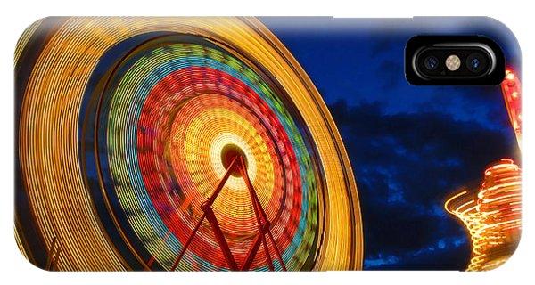 Summer Nights Ferris Wheel IPhone Case