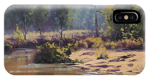 Stream iPhone Case - Summer River  by Graham Gercken
