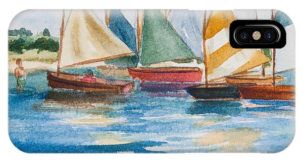 Summer Sail IPhone Case