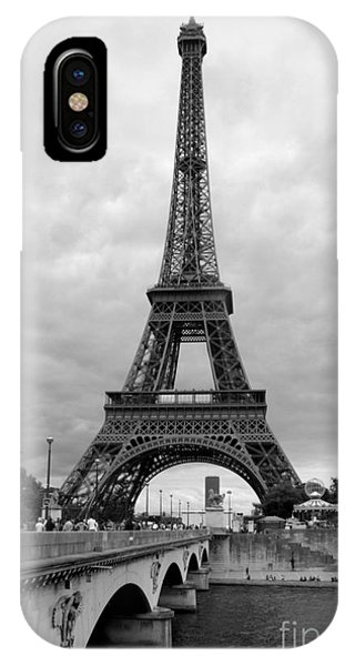 Summer Storm Over The Eiffel Tower IPhone Case