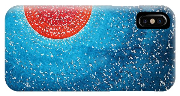 Summer Sun Original Painting IPhone Case