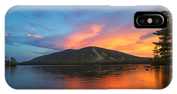 Summer Sunset At Shawnee Peak IPhone Case