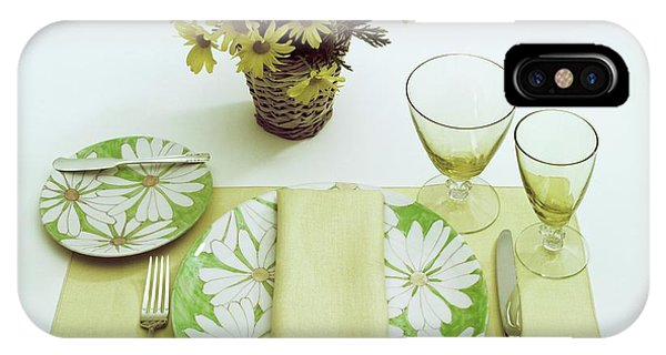 Summer Table Setting IPhone Case