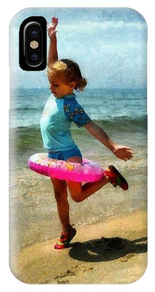 Summertime Girl IPhone Case