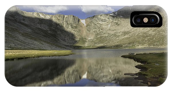 Sangre De Cristo iPhone Case - Summit Lake - 2 by David Bearden