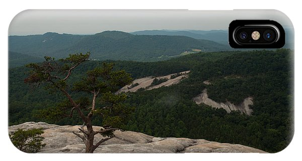 Summit Of Stone Mountain State Park In North Carolina IPhone Case