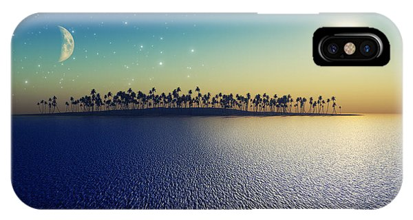Reflection iPhone Case - Sun And Moon by Aleksey Tugolukov